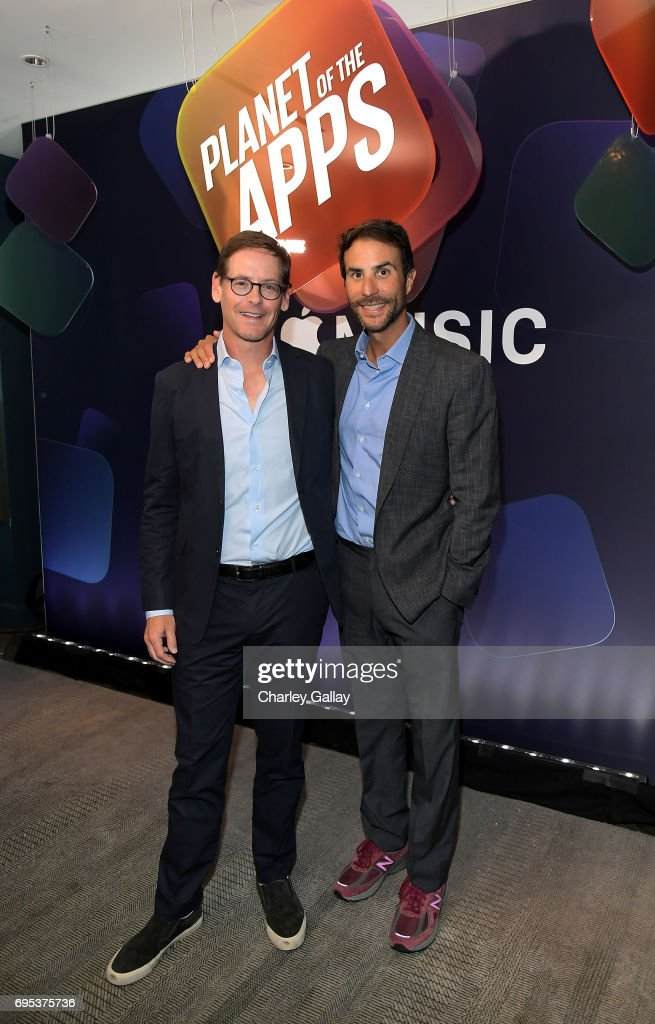 Propagate CEOs and executive producers Howard Owens (L) and Ben Silverman attend Apple Music's Planet of the Apps Party at Soho House on June 12, 2017 in West Hollywood, California.