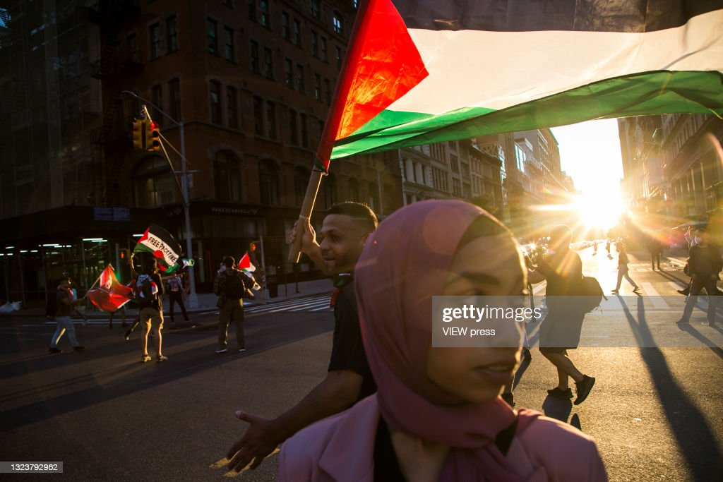 Pro-Palestinian Protests Continue In New York City : Foto di attualità