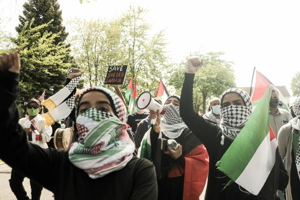 MI: Pro-Palestinian Supporters Rally Against Biden's Response To Conflict