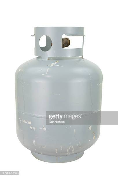 propane tank with path - cylinder stock pictures, royalty-free photos & images