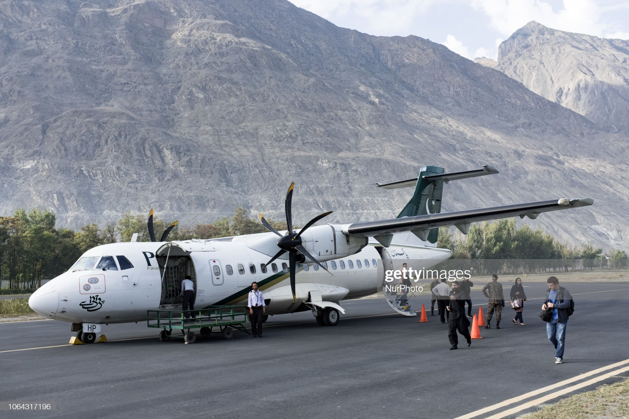 The Hunza Valley : News Photo