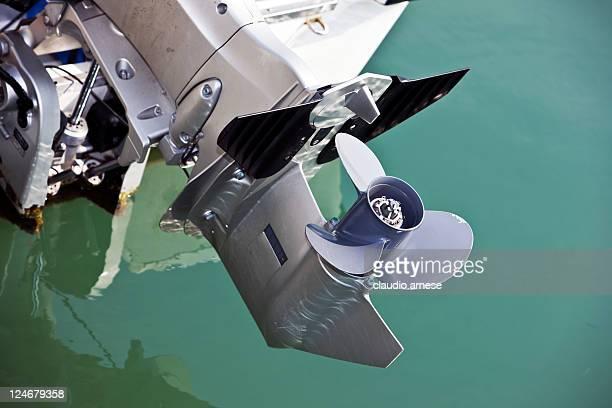 Propeller. Color Image