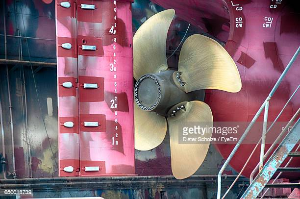 Propeller Of Ship