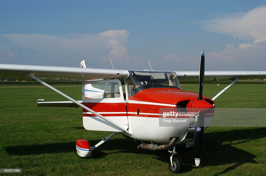 Propeller Maschine Vom Motorflieger Club Adolf Würth Airport