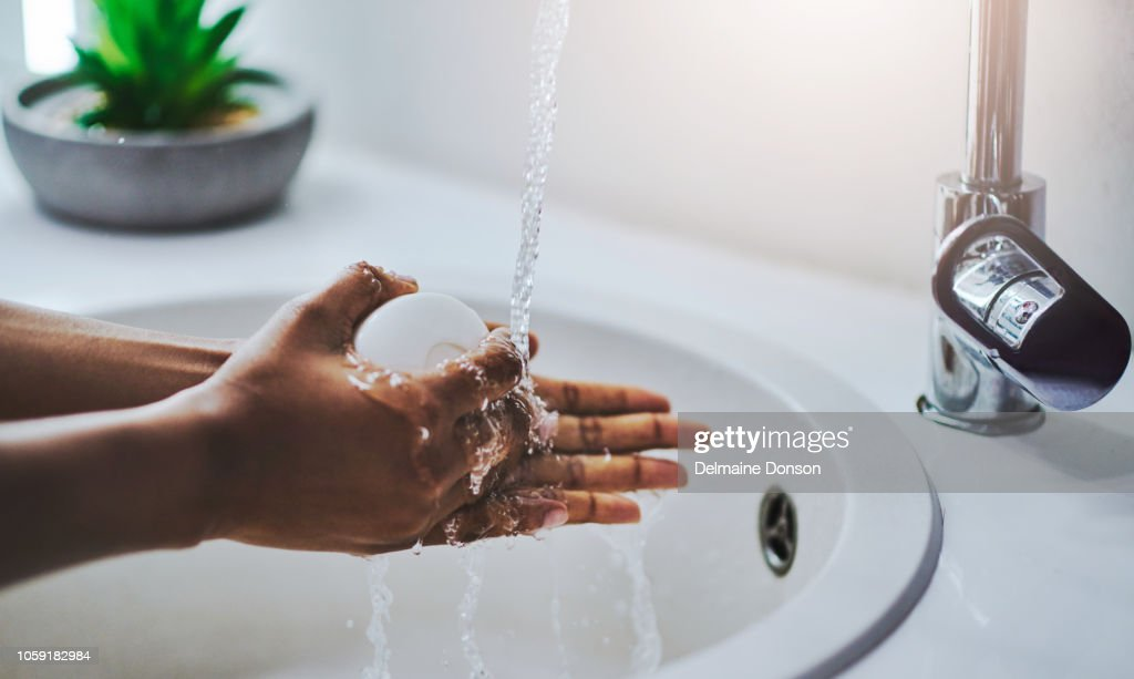 Proper hygiene is important : Stock Photo