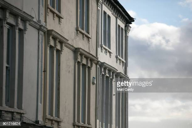 Properties in Clevedon are pictured on January 4 2018 in North Somerset England According to the property website Zoopla house prices in the seaside...