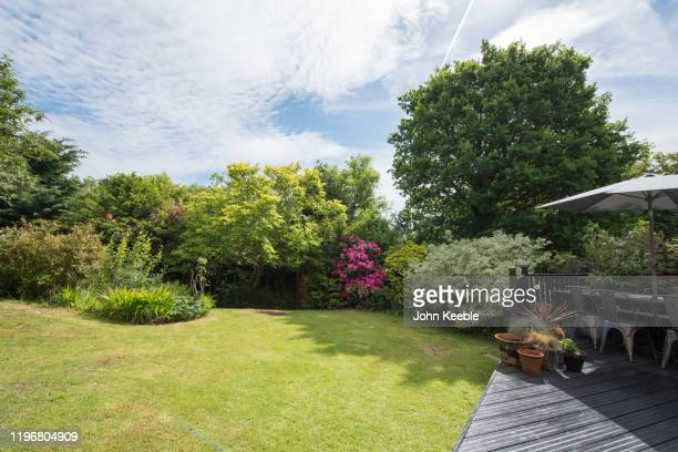 property exterior - domestic garden stock pictures, royalty-free photos & images