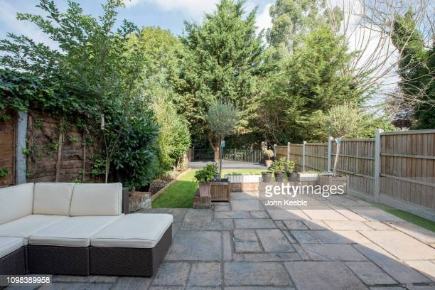property exteriors - patio stock pictures, royalty-free photos & images