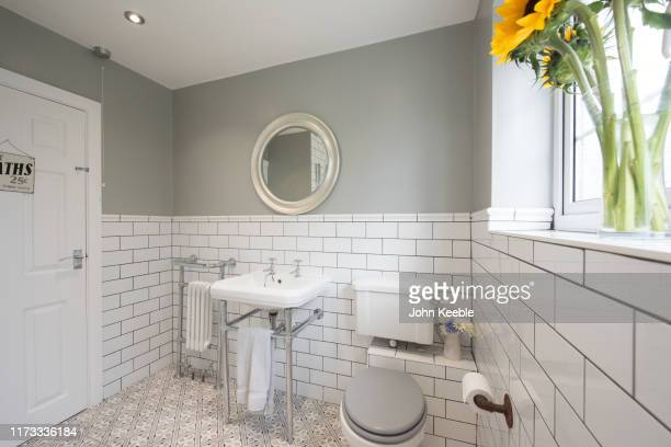 property imteriors - bathroom stock pictures, royalty-free photos & images