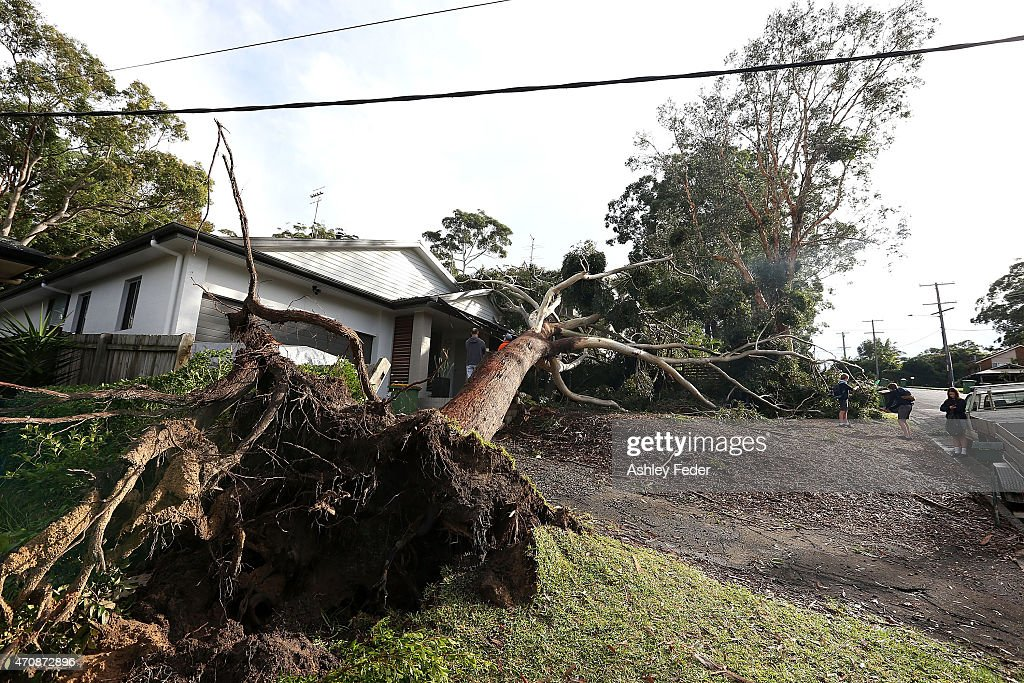 Central NSW Coast Clean-up Continues Following Severe Storms : News Photo