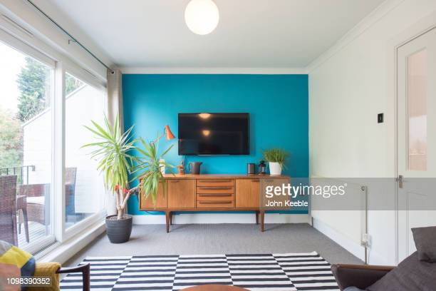property interiors - domestic room stock pictures, royalty-free photos & images