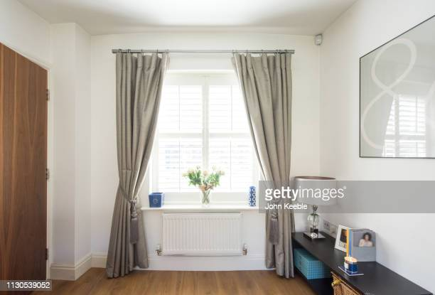 property interiors - curtain stock pictures, royalty-free photos & images