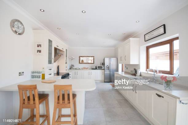 property interiors - white stock pictures, royalty-free photos & images