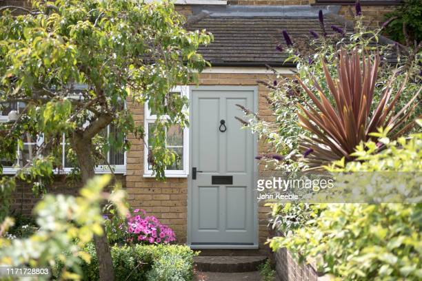 property interiors - front door stock pictures, royalty-free photos & images