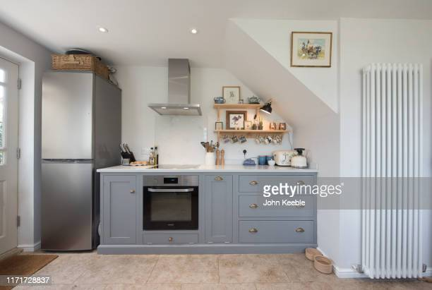 property interiors - kitchen stock pictures, royalty-free photos & images