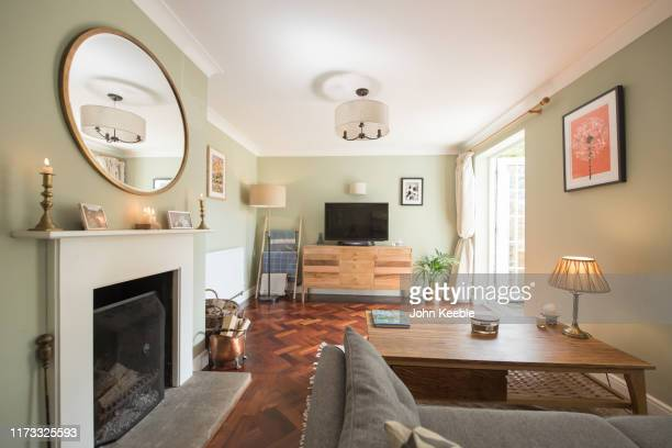 property interiors - fire stock pictures, royalty-free photos & images