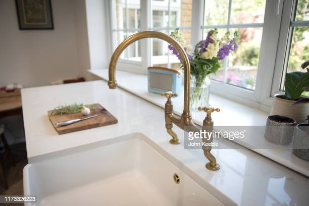 property interiors - brass stock pictures, royalty-free photos & images