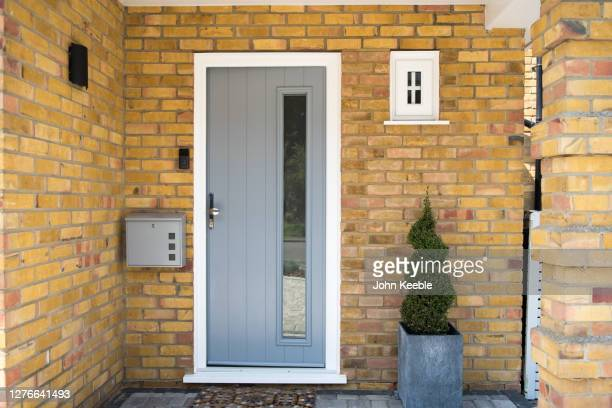 property interiors - grey colour stock pictures, royalty-free photos & images