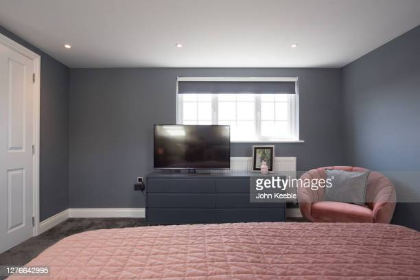 property interiors - pink colour stock pictures, royalty-free photos & images