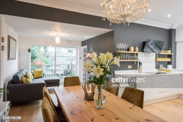 property interiors - lighting equipment stock pictures, royalty-free photos & images