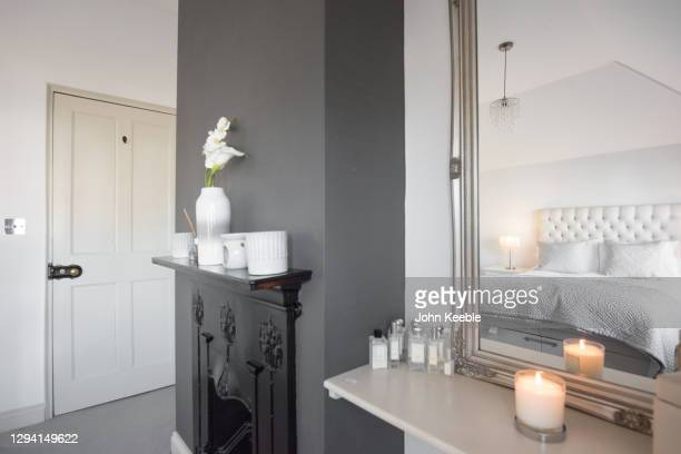 property interiors - candle stock pictures, royalty-free photos & images