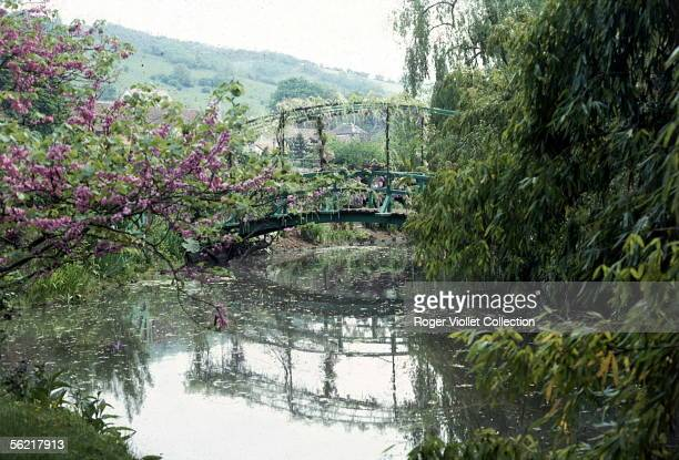 Property of Claude Monet in Giverny The Japanese bridge