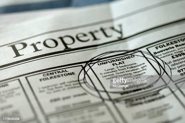 Recherche de propriété