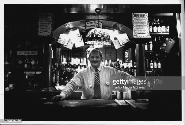 Proprietor Warwick Short Behind the bar at is 'The Stoned Crow'The Stoned Crow which celebrates its 25th birthday this year and holds the crown of...