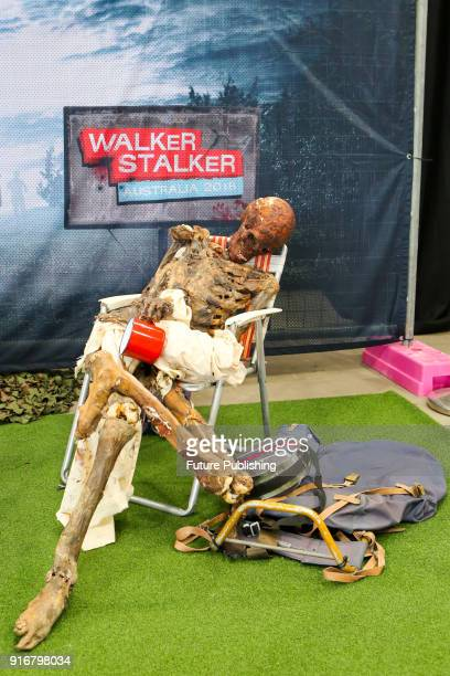 MELBOURNE AUSTRALIA FEBRUARY Props at Walker Stalker Con Melbourne 2018PHOTOGRAPH BY Chris Putnam / Barcroft Images 44 207 033 1031...