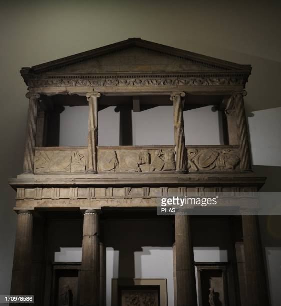 Propylaea of 'A¨a~'A¨a~the Sanctuary of Athena 3rd 2nd centuries BC Two levels with Doric and Ionic columns The architrave have the dedication from...