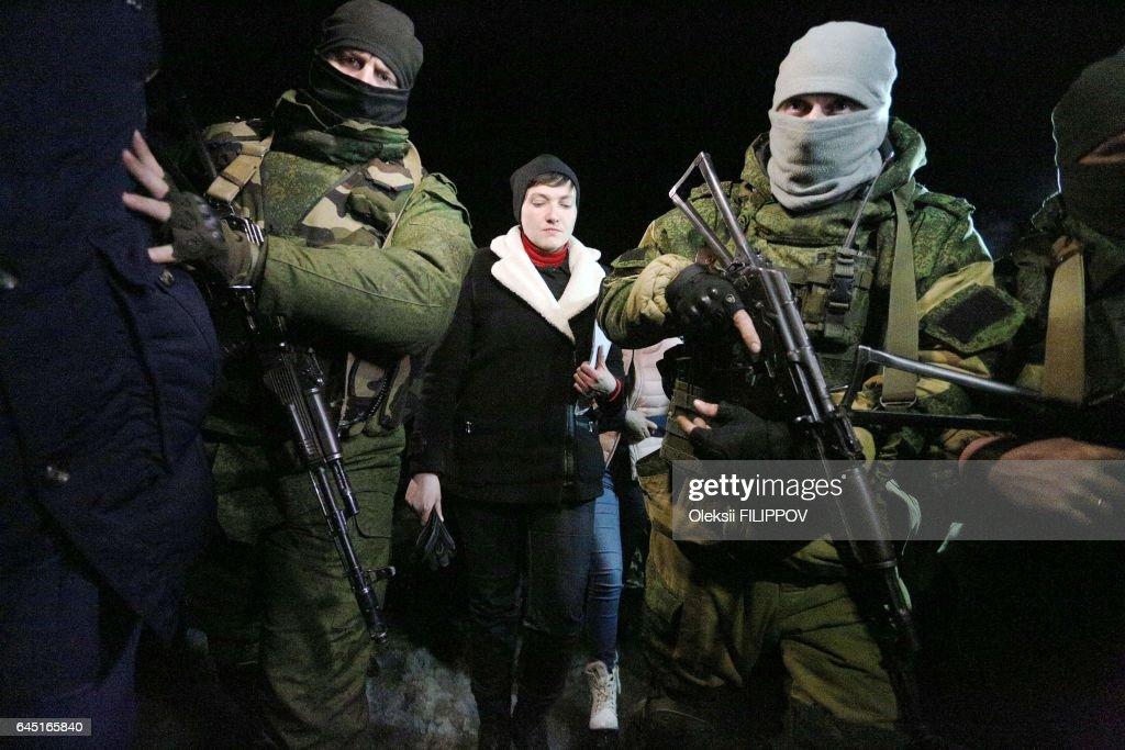 TOPSHOT-UKRAINE-RUSSIA-CONFLICT : News Photo