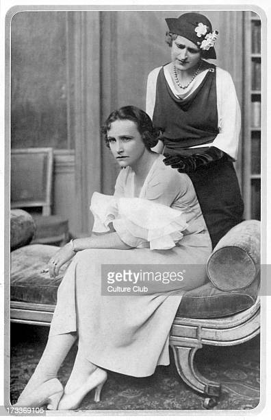 Proscenium play by Ivor Novello With Fay Compton as Norma and Zena Dare as Lady Raynor Production performed at Globe Theatre Shaftesbury Avenue...