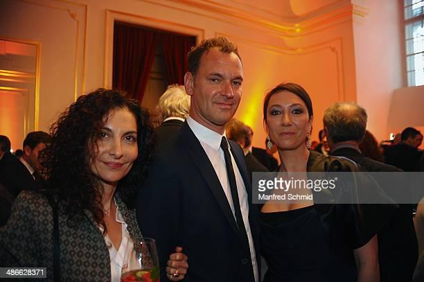 Proschat Madani and Ursula Strauss attend the Romy 2014 Academy Awards at Hofburg Vienna on April 24 2014 in Vienna Austria