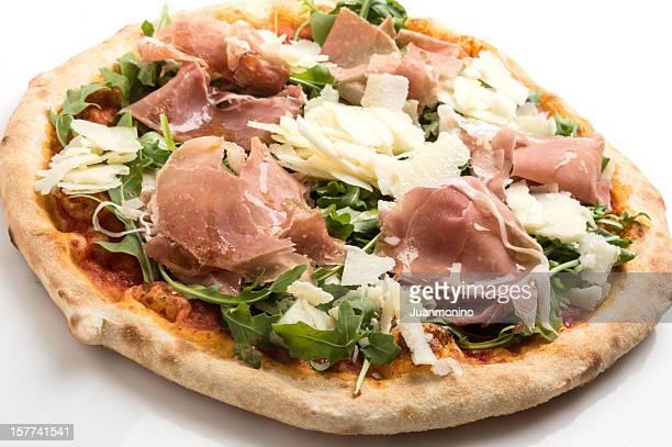Prosciutto, aragula et parmesan Pizza