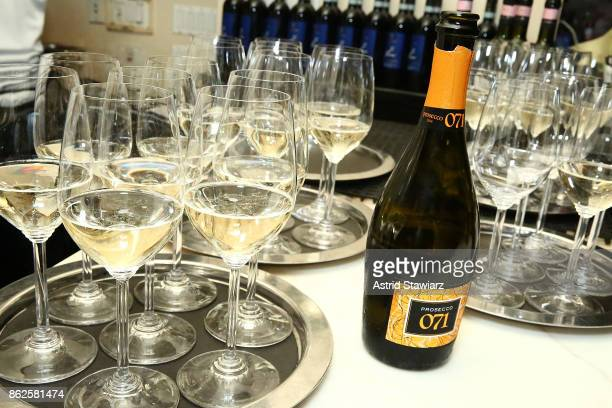Prosecco 071 by Eros Spinozzi Selections and RS Lipmann company is served during the Marc Forgione and Jorge Espinoza dinner presented by Ferguson...