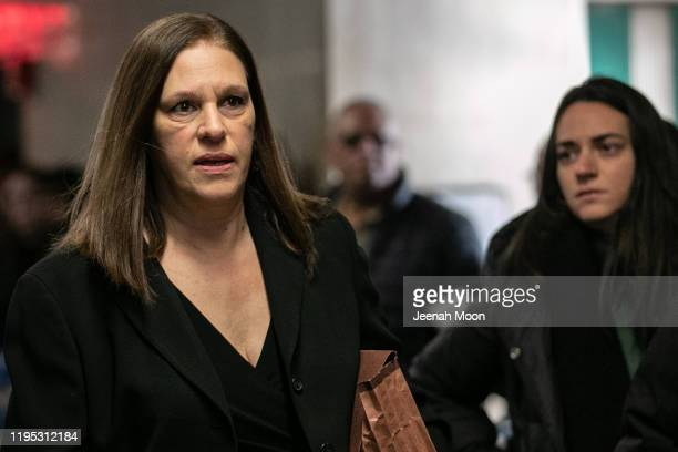 Prosecutor Joan Illuzzi-Orbon arrives at New York City Criminal Court on January 22, 2020 in New York City. Harvey Weinstein, a movie producer whose...