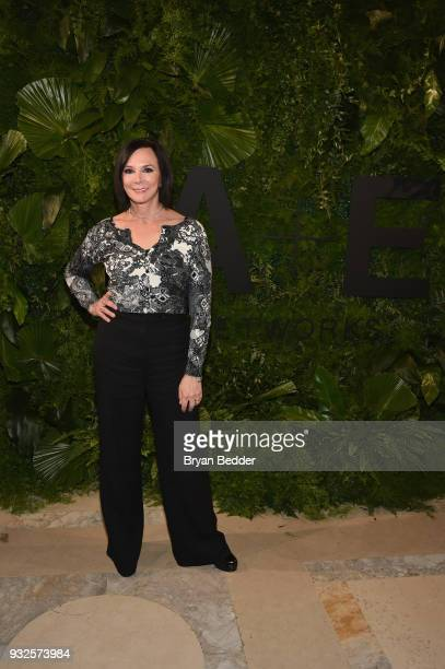 Prosecutor Marcia Clark attends the 2018 AE Upfront on March 15 2018 in New York City