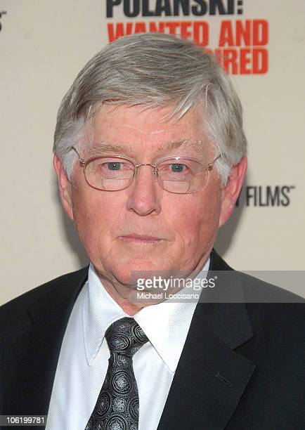Prosecutor Roger Gunson attends the HBO Documentaries premiere Of Roman Polanski Wanted And Desired at The Paris Thatre in New York City on May 6 2008