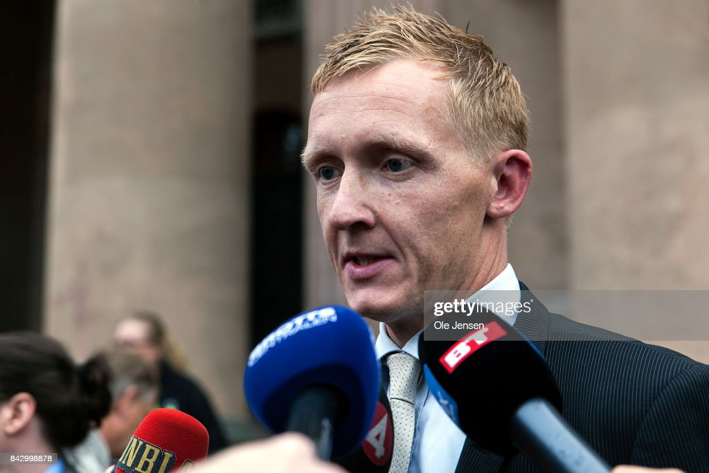 Danish Submarine Inventor Peter Madsen Attends Court Over The Death Of Swedish Journalist Kim Wall : News Photo