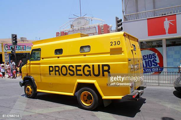 Prosegur global security service provider armored truck