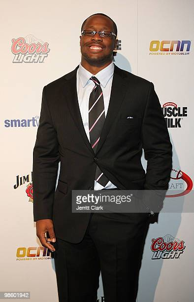 Prospect Gerald McCoy attends the 7th Annual ESPN The Magazine PreDraft Party at Espace on April 21 2010 in New York City