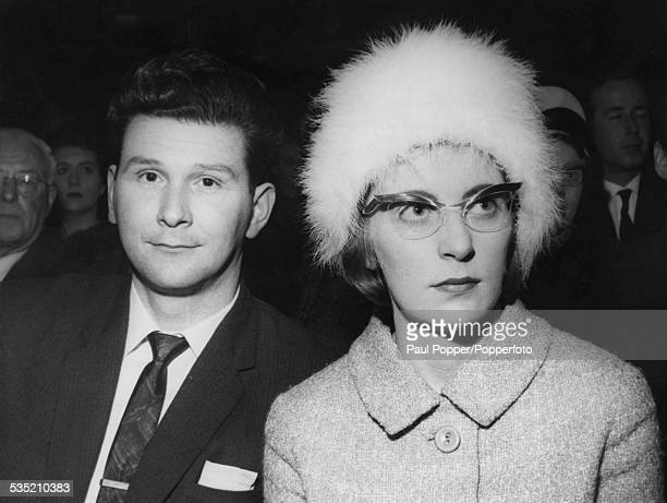 Prospective Conservative parliamentary candidate for Smethwick Peter Griffiths with his wife Jeannette March 1964 Griffiths was elected in the...