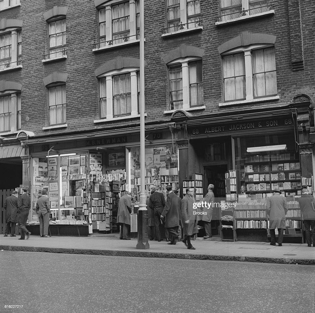 Charing Cross Road Bookshops : News Photo