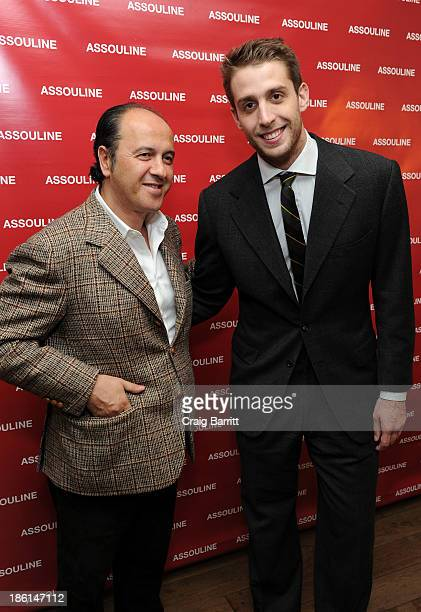 """Prosper Assouline and Ignazio Cipriani attend Assouline and Cipriani host the launch of """"Simply Italian"""" at Cipriani Wall Street on October 28, 2013..."""