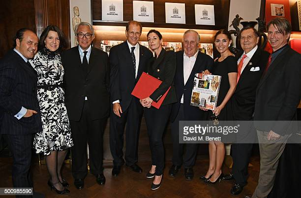 Prosper Assouline, Jill Kluge, Group Director of Brand Communication for Mandarin Oriental Hotel Group, Sir David Tang, Edouard Ettedgui, Group Chief...