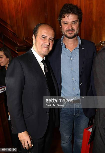 Prosper Assouline Luca Dotti attend the launch of The Italian Dream Wine Heritage Soul at Maison Assouline on October 13 2016 in London England