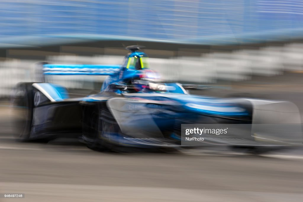 N. Prost of Renault e.dream during Rome E-Prix Round 7 as part of the ABB FIA Formula E Championship on April 14, 2018 in Rome, Italy.