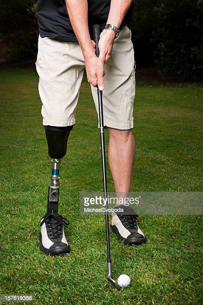 Prosthetic Golfspieler