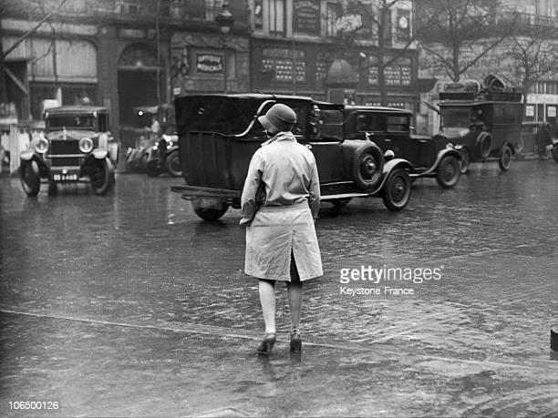 Prostitute On The Grands Boulevards Paris 1929