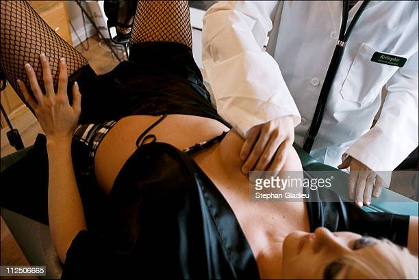 Prostitutes are subjected to weekly medical visits to check for signs of STDs and are checked for HIV once a month at the Moonlite Bunny Ranch a...